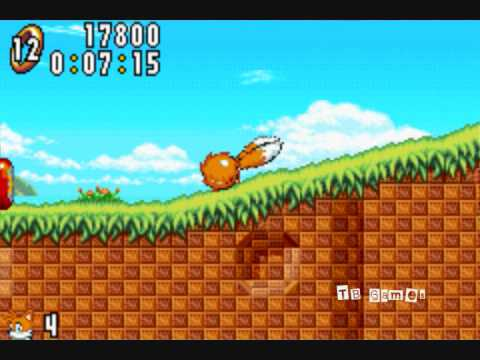 Sonic Advance (Neo Green Hill Zone) - GBA