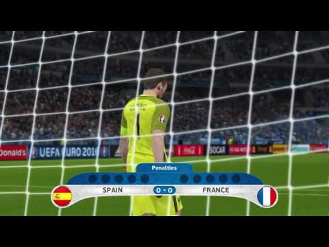 Euro 2016 Spain V France Final Extra Time