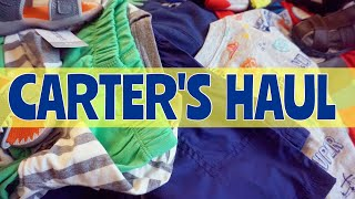 CARTER'S EPIC CLEARANCE HAUL   TODDLER BOY CLOTHING HAUL   SPRING TODDLER HAUL