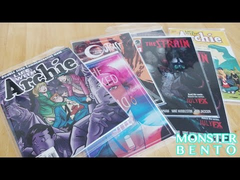 Midtown Comics Haul Unboxing #3 (Death of Archie, The Strain, Outcast)