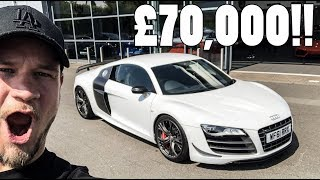 SHOULD I BUY THIS £70,000 AUDI R8 GT?? *TEST DRIVE*