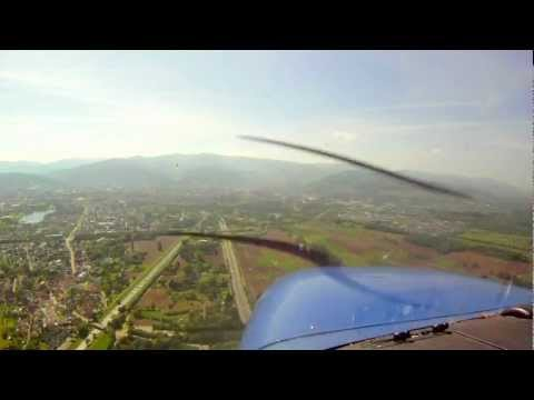 Freiburg (EDTF) Approach and Landing Video