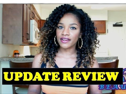 ♥ Jamaican Bundle Wave 1-Week Update + Synthetic Hair Maintenance Tips (Freetress Equal)