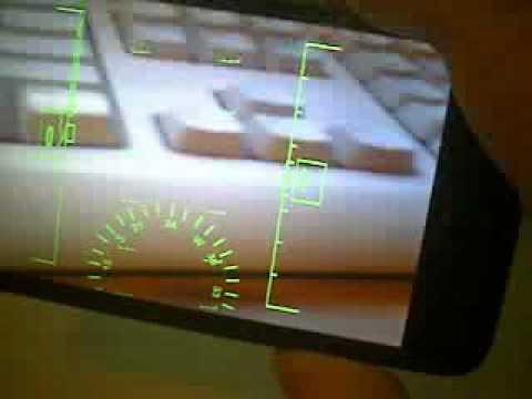 HTC HD2 DirectX 3D, DirectShow HUD (Head-up display)