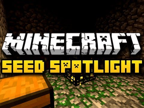 Minecraft Seed Spotlight #1 - EASY DIAMONDS (HD)