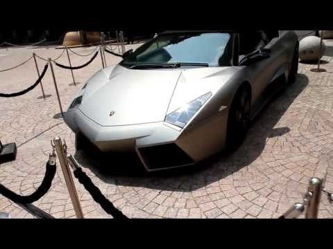 Lamborghini Aventador LP700-4 and Lamborghini Reventon Roadster ,Singapore
