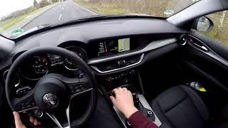 Alfa Romeo Stelvio Test Drive #HD #POV