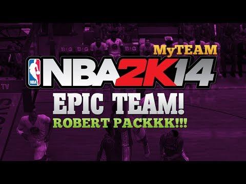 NBA 2K14 MyTEAM ROBERT PACK!!! EPIC DUNKS!