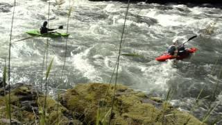 Mazda CX-5 races the river