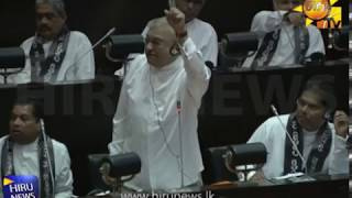Full video of Parliamentary session held this morning