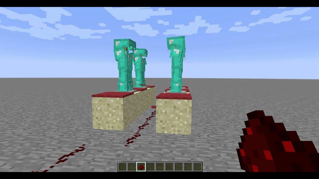 Glitch minecraft 1 8 porte armure youtube for Porte and minecraft