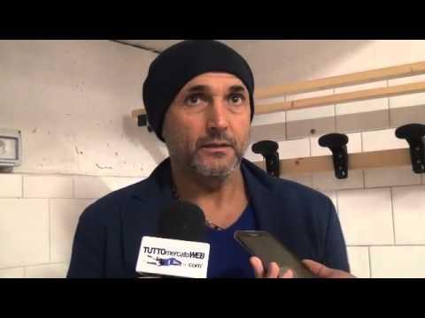 """Luciano Spalletti: """"Roma, o sei primo  o c'è sempre un alone di dubbio"""""""