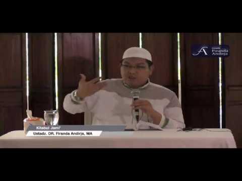 "[Live] Ustadz DR. firanda Andirja, MA Hafidzahullah ""Lanjutan Kitabul Jami'/ Kitab Adab"""
