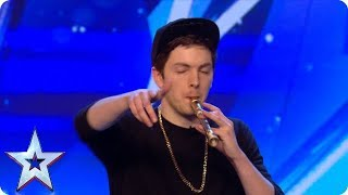 Recorda Boi puts a whole NEW SPIN on playing the recorder!   Auditions   BGMT 2018