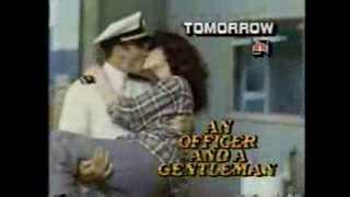 NBC promo An Officer and a Gentleman 1986