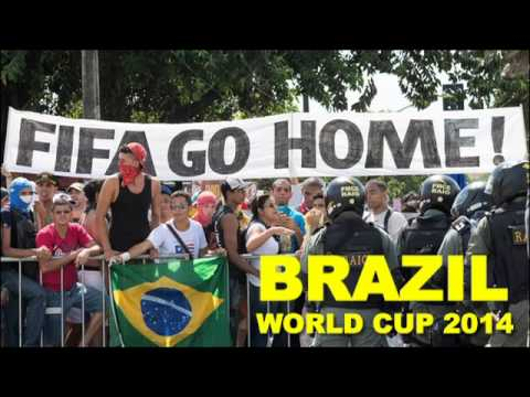 The Brazil World Cup Protests 2014
