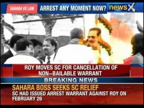 Subrata Roy moves Supreme Court against arrest warrant on him