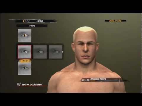 WWE ´12 - How To Make Mr. Anderson From TNA (tutorial) HD
