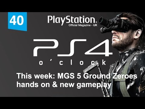 PS4 o'clock - new MGS 5 Ground Zeroes gameplay & details