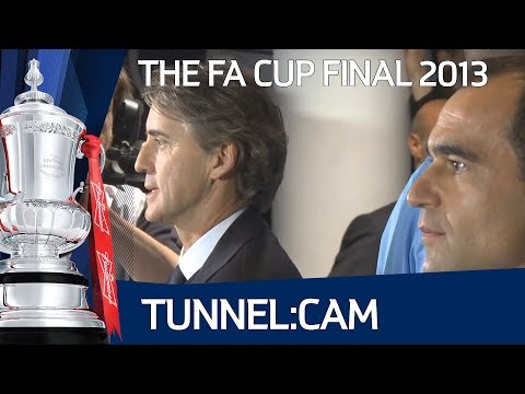 Tunnelcam - Behind the scenes access of Wigan Athletic vs Manchester City in The FA Cup Final