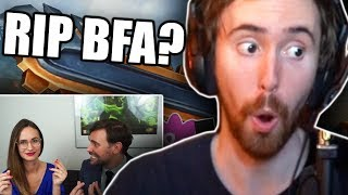 """Asmongold Reactions """"Has Classic ALREADY Killed BfA? Why 8.2 Is Nowhere To Be Seen"""""""