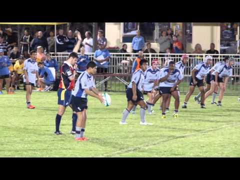 ARU Rugby Gold 2014 u15's - Gold Coast vs Western Australia