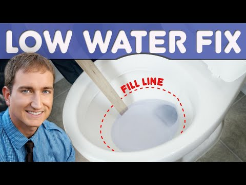how to fix water trickling into toilet bowl