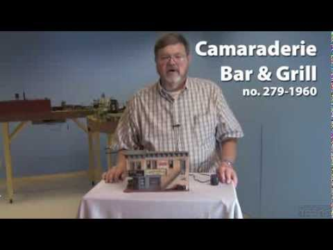 Menards O gauge wooden structure. a Classic Toy Trains video review