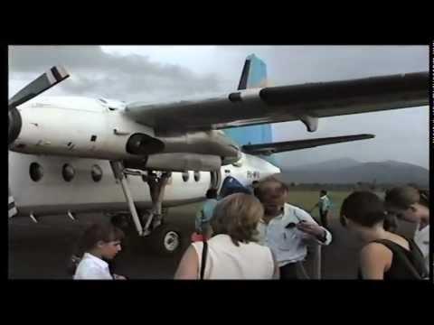 Wings Air IW 1812 Landing at Juanda Airport Surabaya