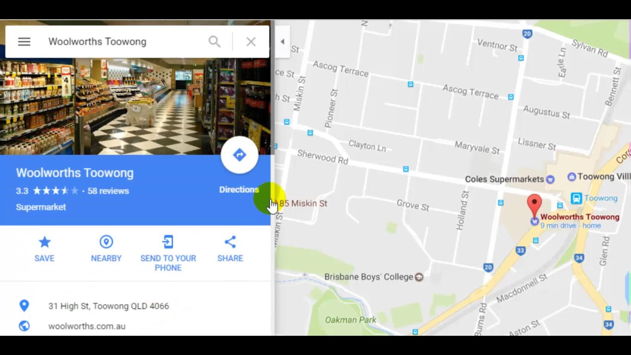 How To Save A Place Or Location In Google Maps Youtube
