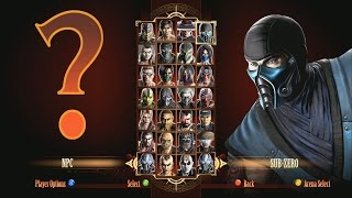 Mortal Kombat 9 X Ray on NPC