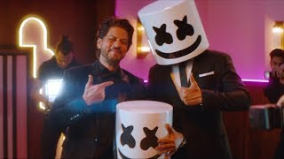 Marshmello x Pritam - BIBA feat. Shirley Setia & Shahrukh Khan (Official Music Video)