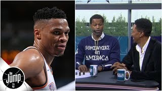 Scottie Pippen and Stephen Jackson disagree on Russell Westbrook's 'stat-chasing' | The Jump