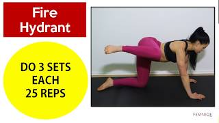 ❤️ How To Get Rid of Hip Dips (Violin Hips) | 4 Workouts For Bigger and Fuller Hips