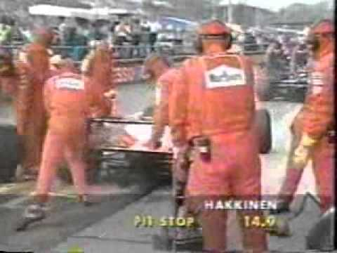 part 5 of the 1995 Italian GP held at Monza Commentary by Bob Varsha and Derek Bell.