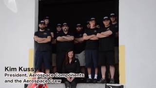 """Aerospace Components """"Kimmy's Garage"""" Made in America High Performance Racing Products"""