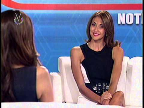 Entrevista Venevisión: María Gabriela Isler, Miss Universo 2014