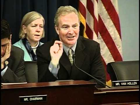 "Van Hollen Opening Statement at Hearing on ""Replacing the Sequester"""