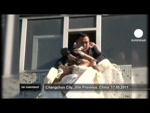 Rejected bride-to-be attempts suicide in China - no comment
