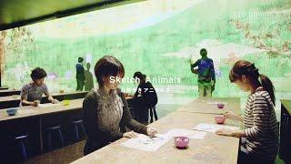 「チームラボ お絵かきアニマルズ in ZOORASIA」を、よこはま動物園ズーラシア(神奈川県)にて開催。「お絵かきアニマルズ」など、2作品を展示。2016/7/23~8/15