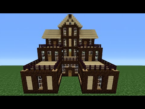 Minecraft Tutorial: How To Make A Wooden House - 6