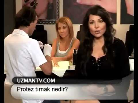 ProNail'de Protez Tırnak Uygulaması