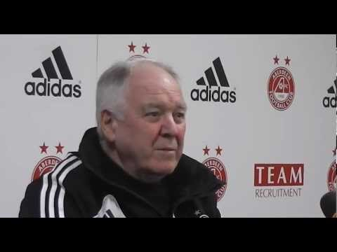 Aberdeen FC - Craig Brown Pre-match v Celtic, 15/03/2013