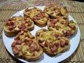 Горячие бутерброды с колбасой и сыром за 20 минут!!! Быстро, очень вкусно и сытно. thumbnail