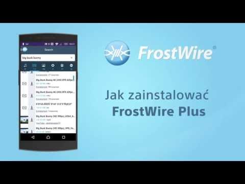 Jak pobrać i zainstalować darmowy FrostWire Plus na telefon Androida
