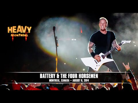Metallica: Battery and The Four Horsemen (MetOnTour - Montreal, Canada - 2014)