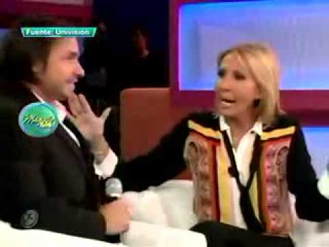 Laura Bozzo recibió con extremo cariño en su programa a Cristian Suárez 10/10/2011