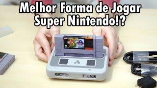 O MELHOR SUPER NINTENDO!? - UNBOXING + DEMONSTRAÇÃO do ANALOGUE SUPER NT!