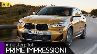BMW X2 - Stile giovane e dimensioni compatte. Si guida bene ma... | Primo test