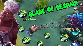 Franco is overpowered | Mobile Legend | Full Blade Of Despair!!!